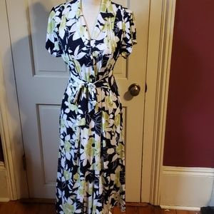 Floral midi dress by Perceptions New York S
